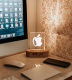 iLight Laser cut Desk USB Acrylic Lamp Gift for Boys and Girls decoration