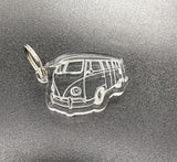 VW Keyring in acrylic 5 mm thick with keyring