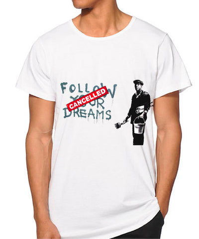 Banksy Follow your dreams T-shirt