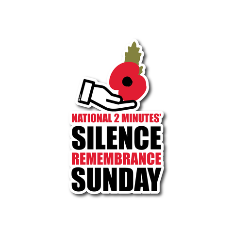 Home Lest We Forget, Remembrance Day, Supporting poppy appeal from home Stickers