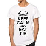 Keep Calm and Eat Pie Men T-shirt