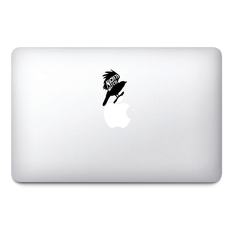 Night's watch Macbook Stickers black vinyl | Jon Snow | Macbook Decal