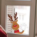 Reindeer Christmas Stickers - Christmas windows stickers - Reindeer
