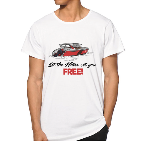 Let the Water set you FREE Men T-shirt