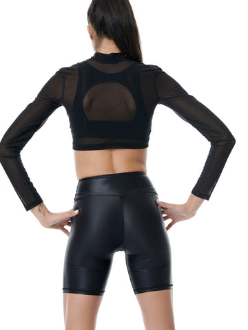 Compression Lightweight Crop Jacket