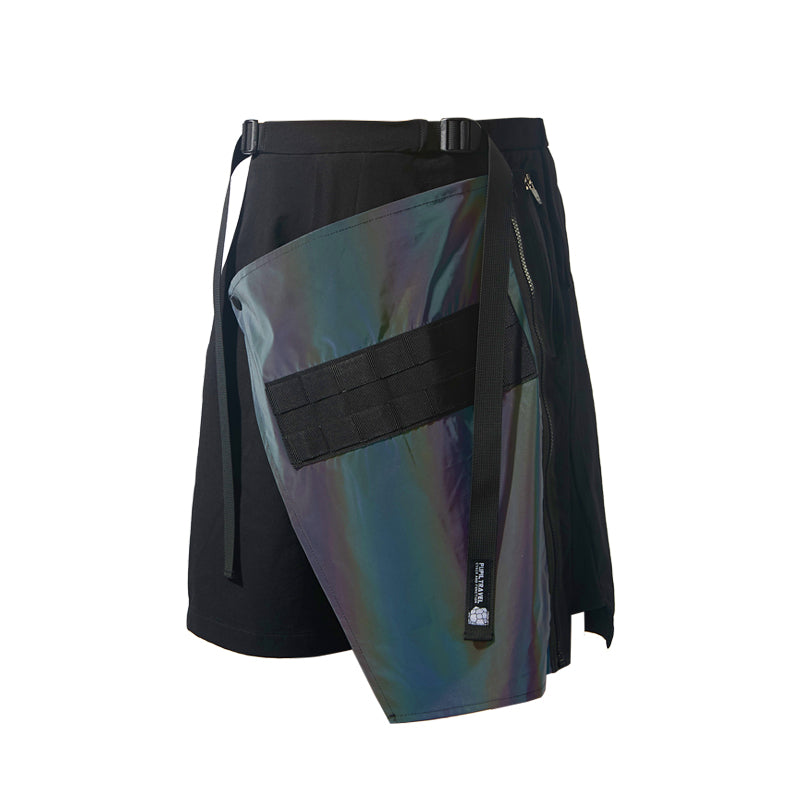 PUPILTRAVEL 19SS Symphony Reflective Color Change Pocket Machine Waterproof Multi-function Sports Pants