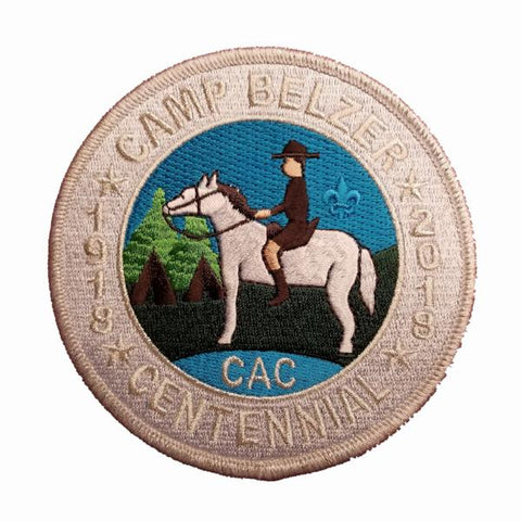 Camp Belzer 100th Anniversary Patch