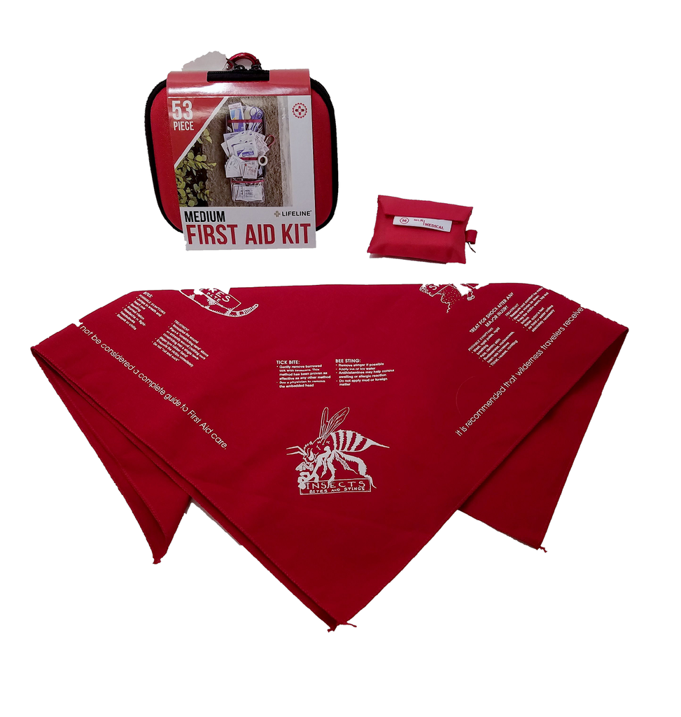 Be Prepared First Aid Kit Package
