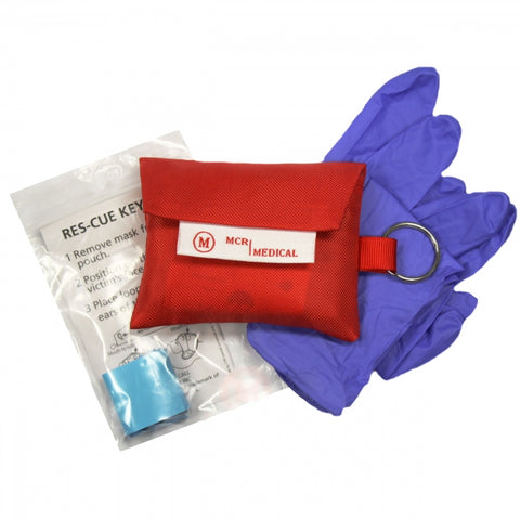 CPR Mask Key Chain