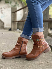 Minimalist Ruched Side Zipper Boots