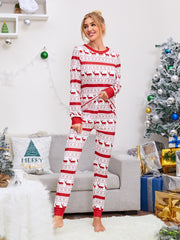 Christmas Print Pajama Set