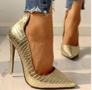 Women Pumps 2020 Spring High Thin Heel Pointed Toe Rhinestone Bling Gladiator Ladies Shoes Sexy Female Gold Sandals women shoes