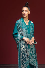 Nishat 41901109-Linen – Green Digital Printed 3PC