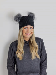 Koala Hat Black Grey 2Lu save the koalas koala hospital fundraiser burned koalas