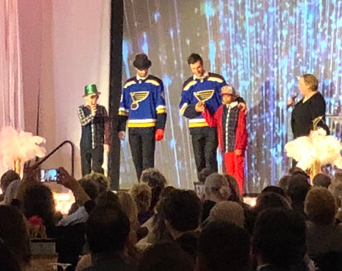 st louis blues petrangelo charity friends of kids with cancer 2lu