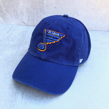 Bluenote 47' Blues Retro Hat - Bling