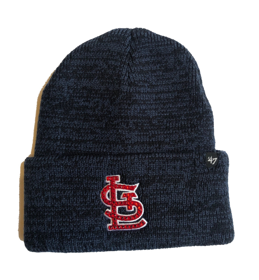 Blinged Cardinals Beanie