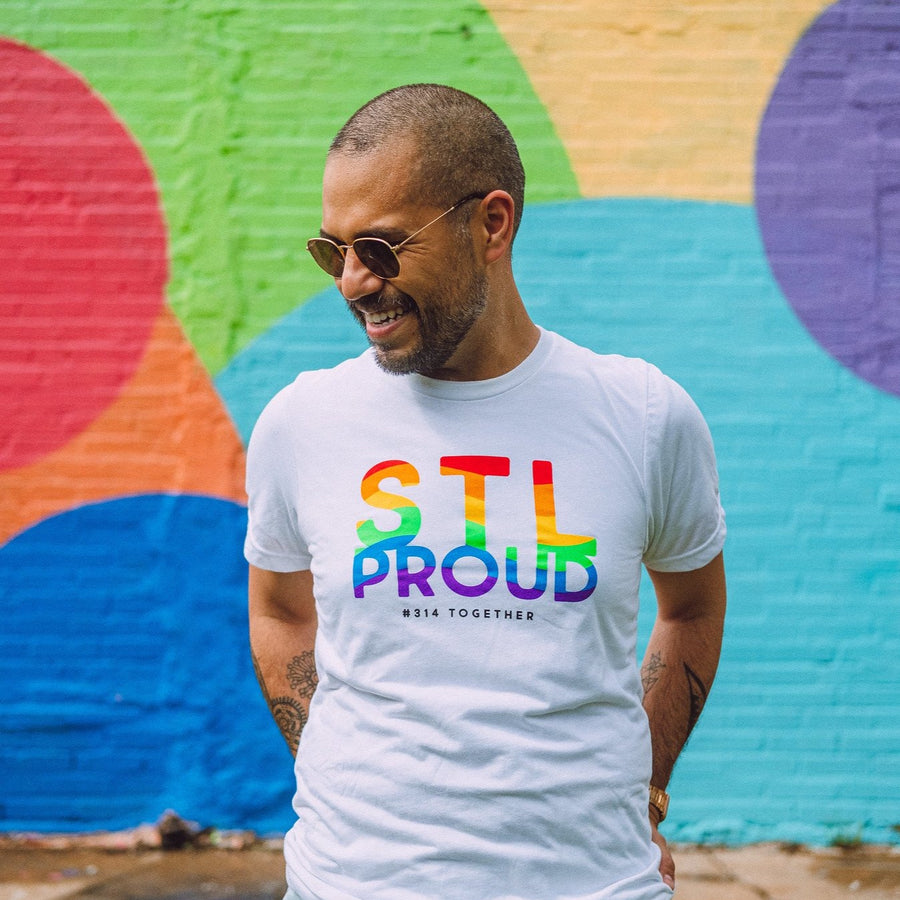 314TOGETHER pride stl proud 2020 tee tower grove downtown st louis
