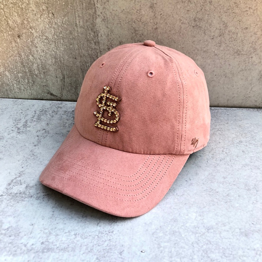 STL '47 PINK UPTOWN SUEDE CLEAN UP - Bling