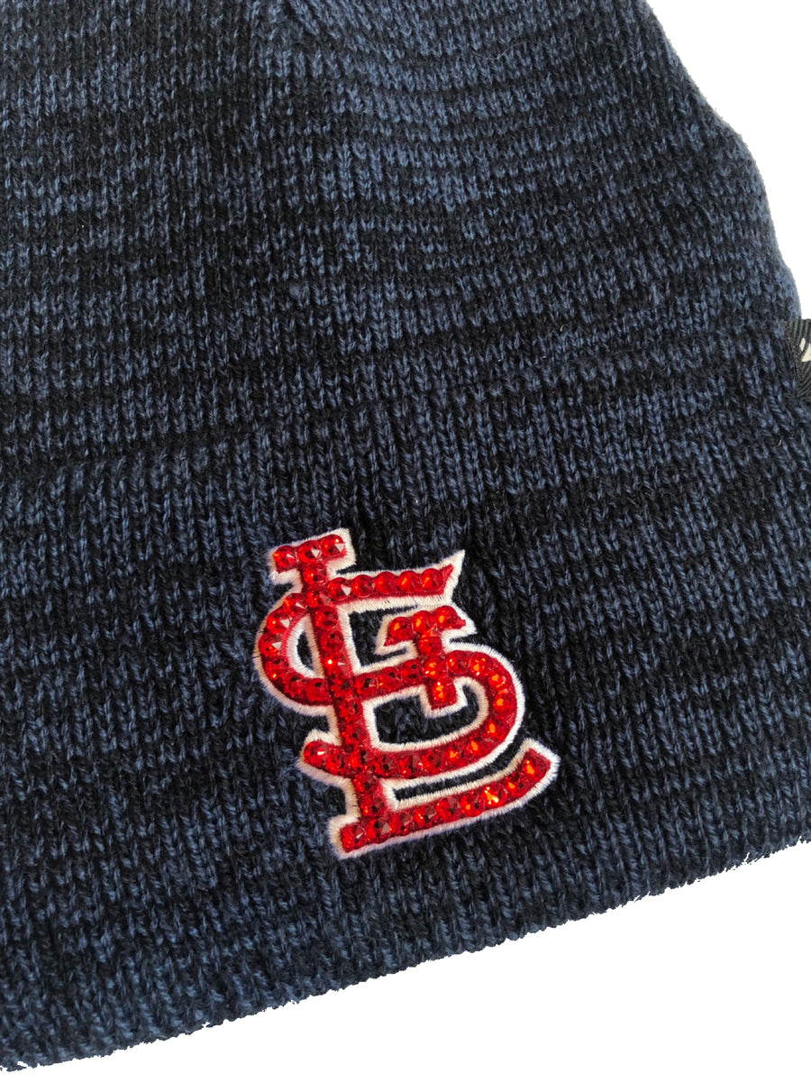 Blinged St. Louis Cardinals Beanie Knit Hat