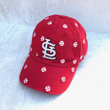 '47 Confetti Clean Up STL MLB with baseball confetti - Bling