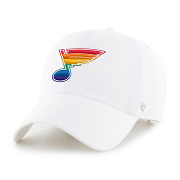 Pride Bluenote St Louis Blues STL PrideFest White Hat