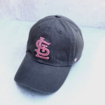 Classic STL Grey Clean up w/ Pink Swarovski Crystals
