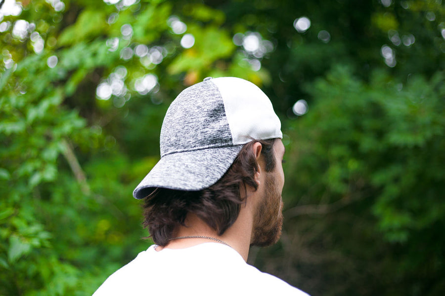 Roger Space Dye Flex Fit Baseball Cap