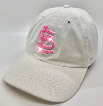 STL '47 White on White Clean Up - Pink Bling
