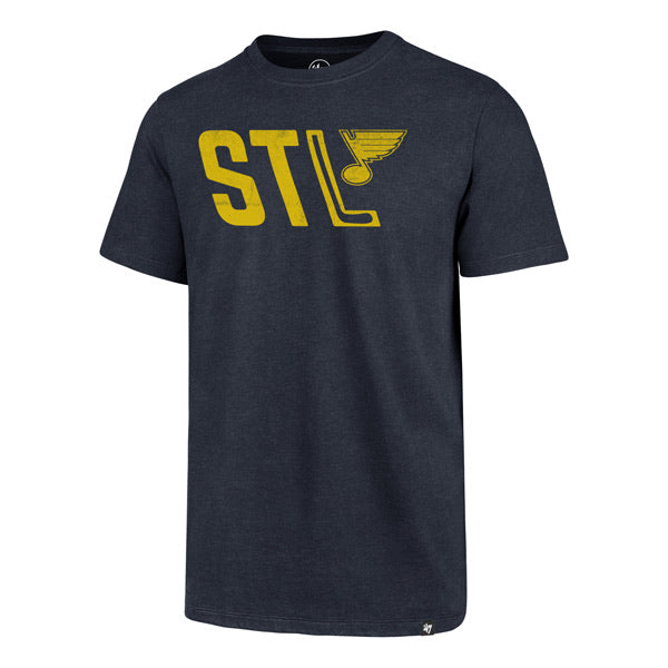 STL Bluenote Hockey Stick '47 Club Tee