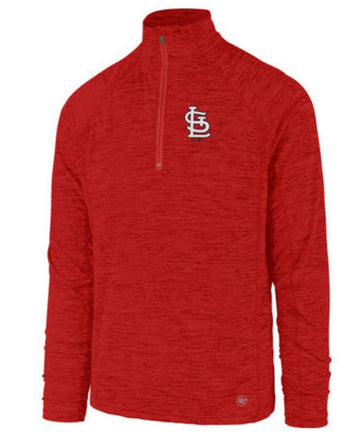 Red Cardinals Impact Performance 1/4 Zip