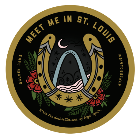 #314TOGETHER - Meet Me in St. Louis Sticker