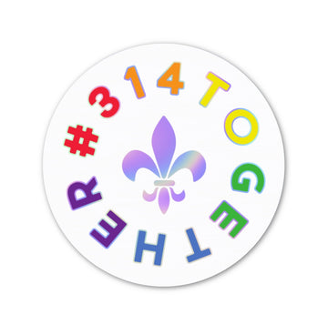 #314TOGETHER - Pride Sticker