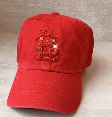 Classic STL Red Clean up w/ Red Swarovski Crystals