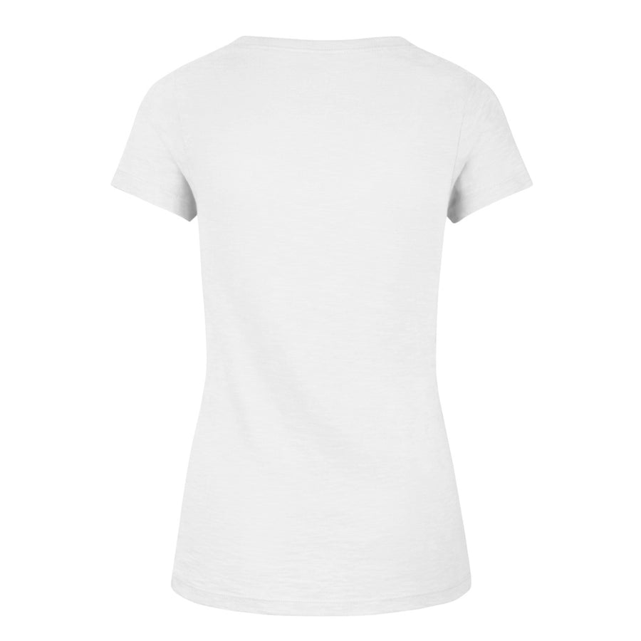 STL '47 White V-Neck Scrum