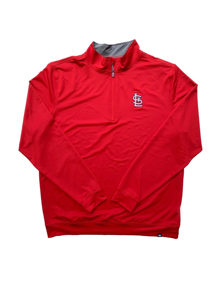 STL '47 Red Relay Quarter Zip
