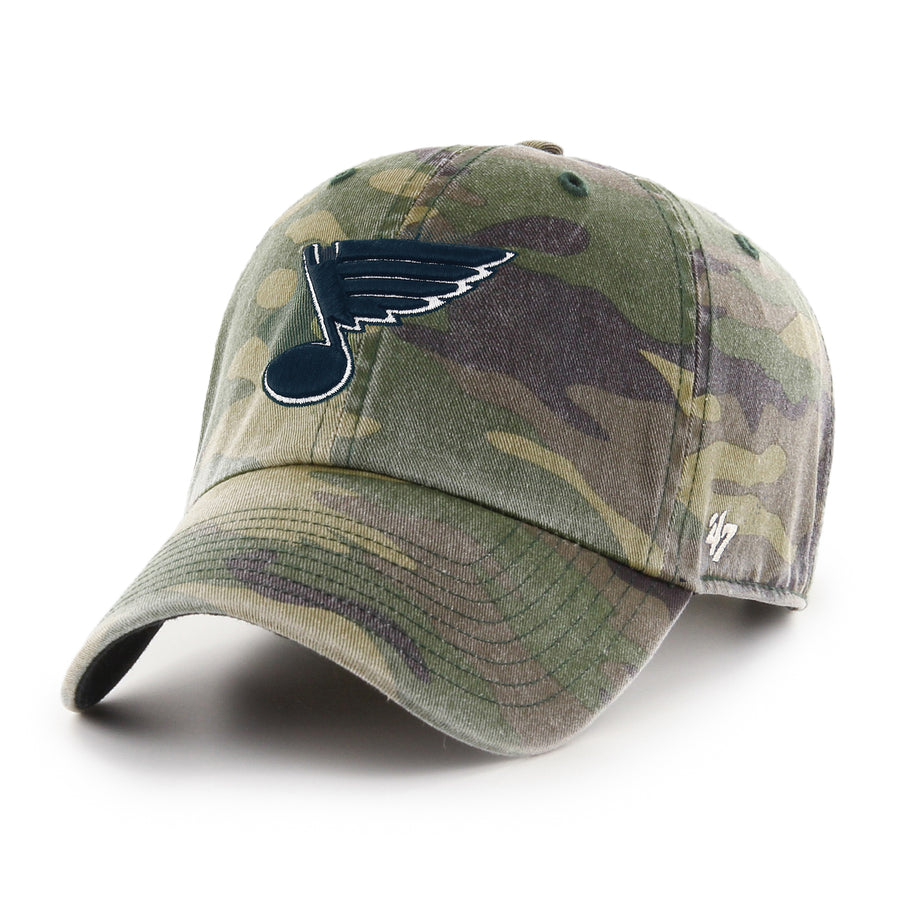 camo bluenote blues hat st louis blues