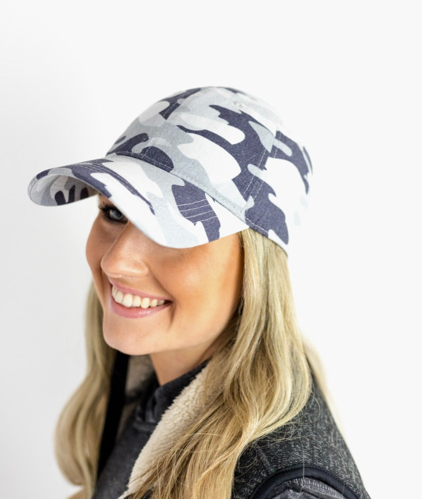 Uncle Camo Garment Washed Baseball Cap