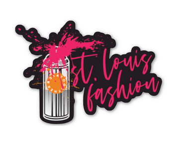 st louis fashion spray can 314 together sticker courtney winet