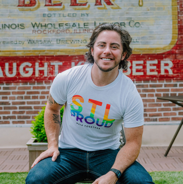 STL PROUD St Louis Pride 2020 Tee Gay pride