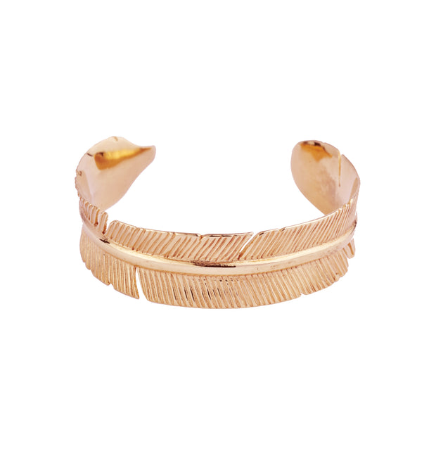 Aurora Feather Bangle