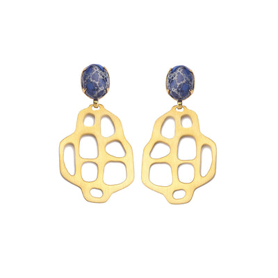 Avalon Earrings Blue