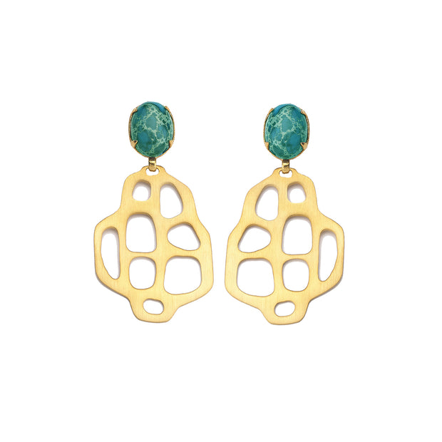 Avalon Earrings Turquoise