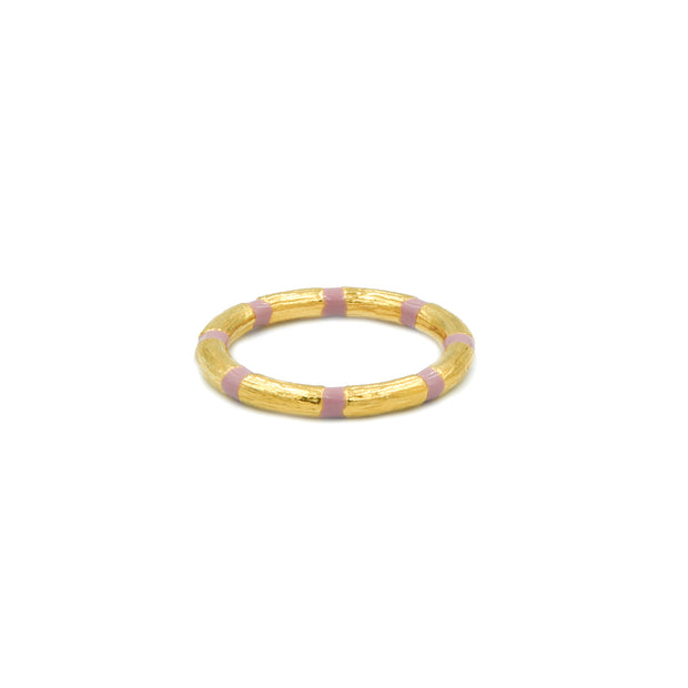Blake Bamboo Ring Blush