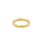 Blake Bamboo Ring Gold