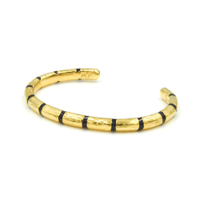 Blake Bamboo Bangle Black