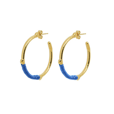 Dido Hoops Blue