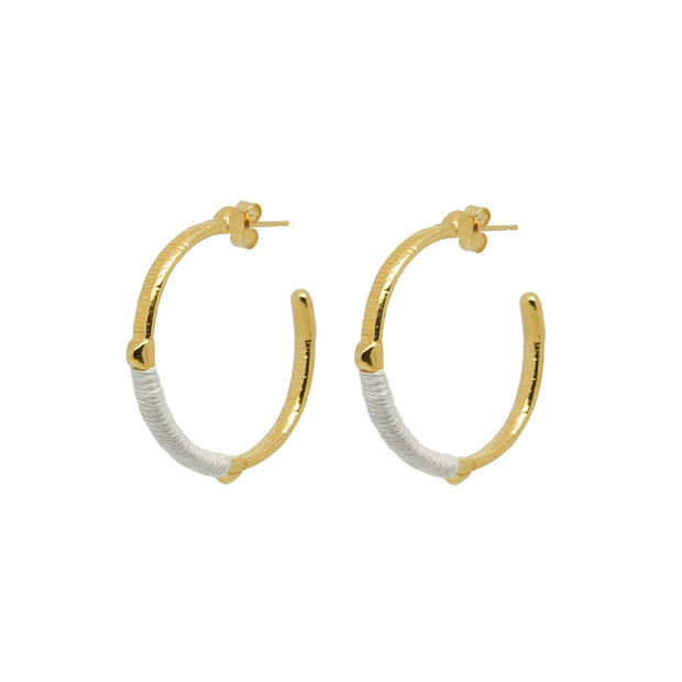 Dido Hoops Ivory
