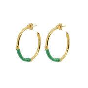Dido Hoops Green