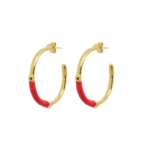 Dido Hoops Red